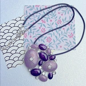⚜️Je❤️Vintage ⚜️ purple necklace